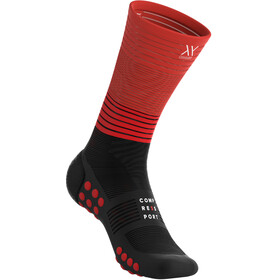 Compressport Oxygen Mid Compression Socks black-red